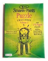 Bendon Smartie Pants Puzzle Challenge Vol. 2 Book 175+ Pages Sudoku,Crosswords