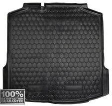 Car Boot Cargo Trunk Rubber Mat Liner Tray for Skoda Rapid liftback 2013-