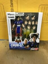 "Genuine BANDAI S.H.Figuarts Street Fighter V CHUN LI 6"" Action Figure USA SELLER"