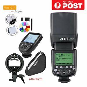 Godox V860II-C TTL HSS Camera Flash Speedlite XPro-C Trigger Fr Canon 6D 7D 550D