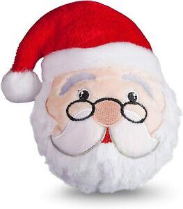 fabdog Santa faball Squeaky Dog Toy (Medium)