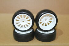 Traxxas 7572  LaTrax Rally Reifen / Felgen 4x ( Slick-Reifen auf 12-Speichen)