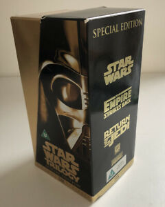 Star Wars Boxed VHS Set Trilogy Special Edition 1997 Digitally Mastered