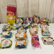 19 Vintage 80-90s McDonalds Happy Meal Toy Lot Muppets Barbie LPS Babe Space Jam