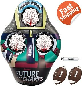 """Franklin Sports Kids Football Target Toss Game Inflatable Throwing Target 45"""""""