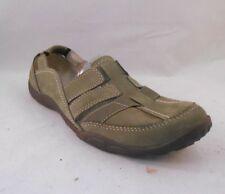 Clarks Olive Green Nubuck Casual Shoes Women's Size 10 M / 41.5 EU
