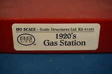 Scale Structures Ltd HO Kit 1920's Gas Station 1101
