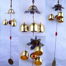 Big Metal Lucky Bells Oriental Wind Chime Outdoor Garden Hanging Decor 50cm