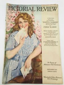 Sept 1919 PICTORIAL REVIEW Magazine Dolly Dingle Paper Dolls, Twelvetrees