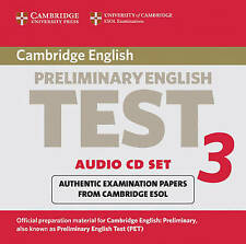 Cambridge Preliminary English Test 3 Audio CD Set (2 CDs): Examination Papers fr