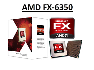 "AMD FX 6350 Black Edition ""Vishera"" 6 Core, AM3+, Clock 3.9 - 4.2 GHz CPU"