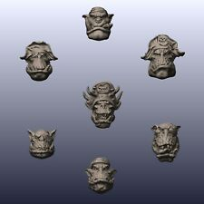 Ork Pirate freebooters Heads