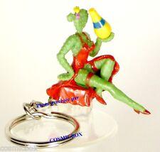 Porte-clés ORANGINA figurine pin'up CACTUS sexy publicité keychain pub figure