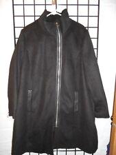 women black ellos coat size 20