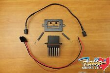 1999-2004 Jeep Grand Cherokee WJ Blower Motor Resistor & Wiring Kit Mopar OEM