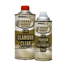 Ultra High Gloss 2.1 voc Clear Coat, 2:1 Clearcoat 48 oz. Slow Kit, SS-1200/90-Q
