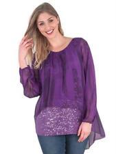 Animal Print 100% Silk Tops & Blouses for Women