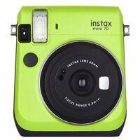 Fujifilm Instax Mini 70 Instant Film Camera - Kiwi Green [Certified Refurbished]