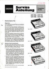 Service Manual-instrucciones para Grundig CN 700,cn 710,cn 720,cn 730