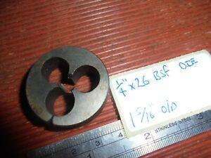"""1/4"""" x 26 BSF Die"""