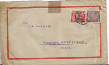 Czechoslovakia 1925 COVER WITH 100h RED AND 300h PURPLE TO ENGLAND REF 1984