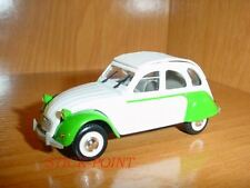 "CITROEN 2CV 6 2-CV 6 ""DOLLY"" WHITE-GREEN 1985 1:43 MINT"
