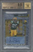 GREG JENNINGS 2006 PLAYOFF CONTENDERS ROOKIE TICKET TRUE RC AUTO BGS 9.5 w 10 AU