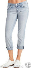 "£249 NEWJ Brand Blue Jeans T29/L24"" Aoki Afterlife Low-Rise Cropped Stonewashed"