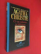 Agatha CHRISTIE - C'E' UN CADAVERE IN BIBLIOTECA Ed.Hachette (2004) Libro Giallo