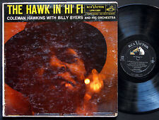 COLEMAN HAWKINS BILLY BYERS The Hawk In Hi-Fi LP RCA LPM 1281 US 1956 DG MONO