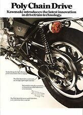 Kawasaki US sales brochure KZ440 Ltd Z440 1980 Poly Belt