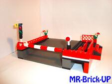 Lego® Eisenbahn Bahnsteig 9 V RC Bahnhof Bahnübergang 4560 / 4561 9v  (L513)