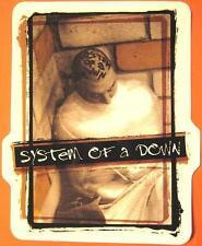 SYSTEM OF A DOWN AUFKLEBER / STICKER # 17 - PVC - WETTERFEST