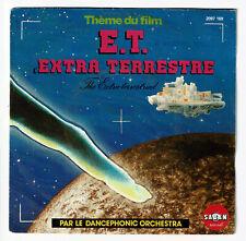 E.T. L'EXTRA TERRESTRE Vinyle 45T Film John WILLIAMS par DANCEPHONIC ORCHESTRA
