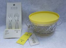 PHILLIPPE STARCK for Target Snack Bowl w/Lid Fork & Spoon Set NWT