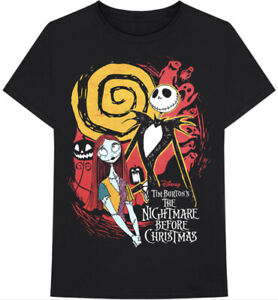 nightmare before christmas Official Merch T Shirt Size Large