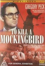 To Kill A Mockingbird Gregory Peck DVD Like New