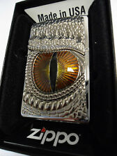 ZIPPO ® Dragon Eye Occhio Drago Nuovo/New Ovp Top 2.002.539 Top