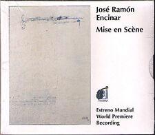 José Ramón ENCINAR b.1954 Mise en Scene Clarinet & Orchestra CD Adolfo Garcés