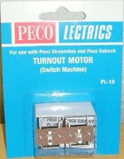 Peco PL-10 Turnout/Point Motor (Switch Machine). NEW  (Model Railways)