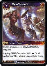 World of Warcraft WOW TCG Reign of Fire: Masse Teleport x 3