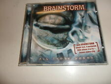 CD Brainstorm – all those words