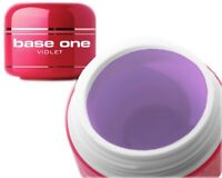 Silcare Base One Violet Medium Thick UV Nail Gel 15g