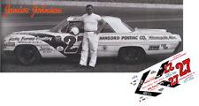 Decals Cd_463 #3 Junior Johnson 1962 Pontiac 1:24 Scale Decals Models & Kits
