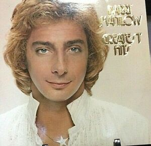 BARRY MANILOW Greatest Hits Double Album Released 1978 Vinyl/Record USA