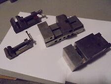 Lot Of 4 Mixed Metal Working Vises, 2 Ready ,2 Need Finishing,All Cool