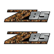 Z85 Truck Bed Camo Buck Skull Fire GMC Toyota (2 pack) FORD CHEVY DODGE  Z85a08