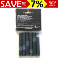 NEW PACK 6x Sheaffer Classic Ink Cartridge Refill Sheaffer Fountain Pens BLACK