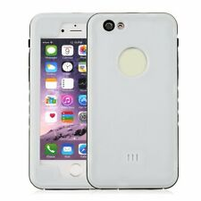 White TPU Waterproof Shockproof Phone Cover Case For IPhone 6/6s 4.7 B