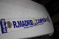 BUFANDA DE FUTBOL REAL MADRID CAMPEON COPA DEL REY DEL AÑO 2013 COTIZADA  SCARF